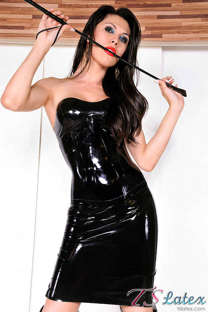 adryana suzuki t girl in black latex