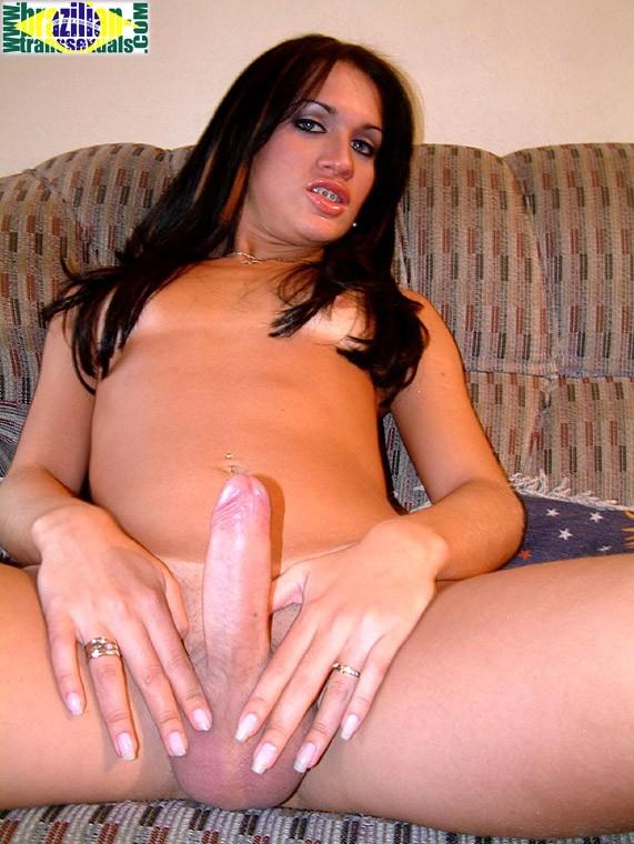 alanda dumont stripping her ripped denim dress