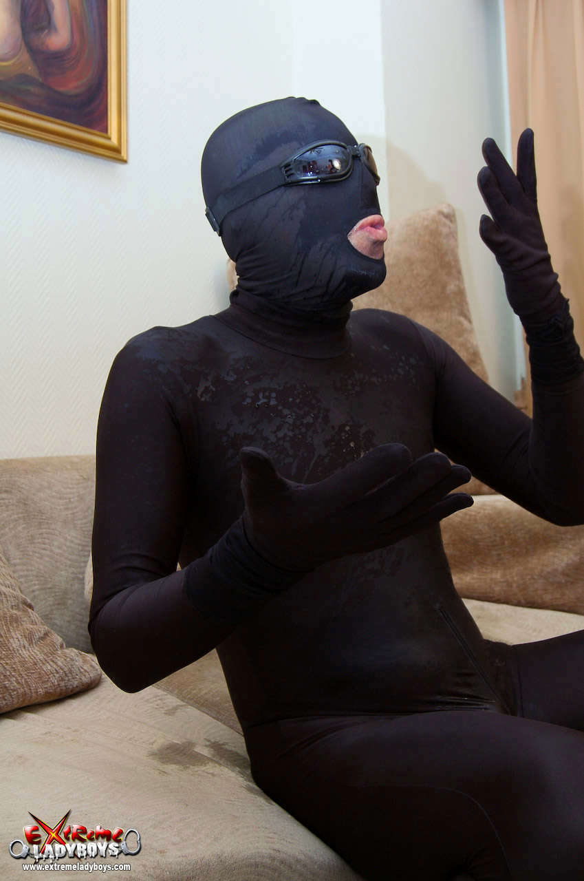 Amy T-Girl Smashed By Burgler