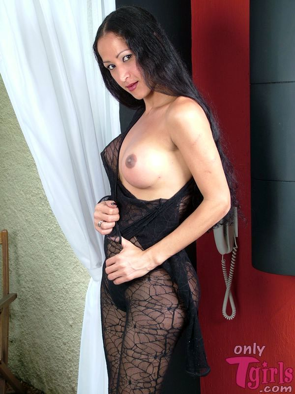 ana paula oliveira black body stocking stroking her penis