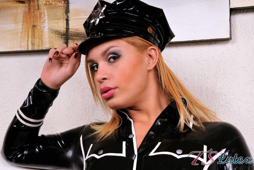 Andrea Mel Racy Police Girl