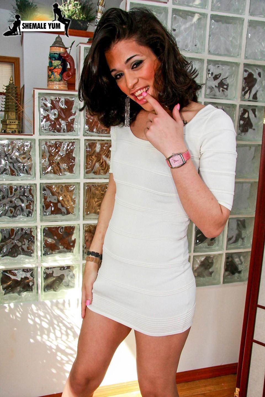 Angela Skye White Skirt