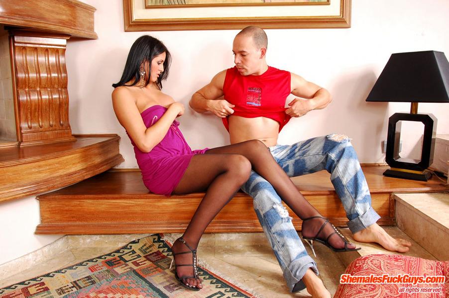 Anita Costa Leggy TGirl Banging A Dude