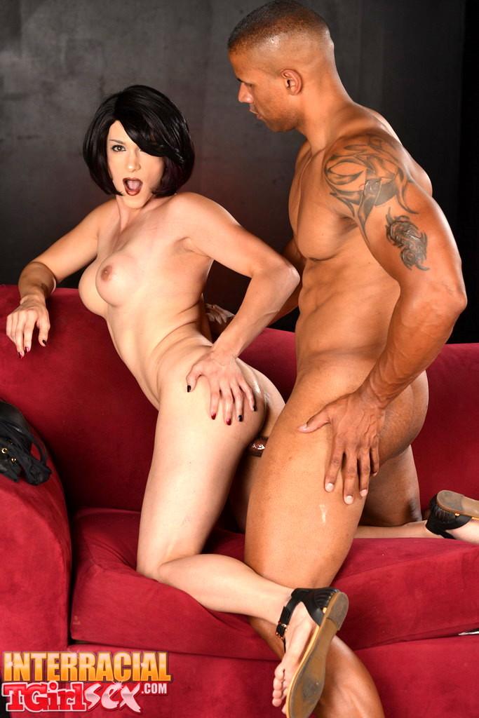Arousing Nina Rides A Huge Black Penis