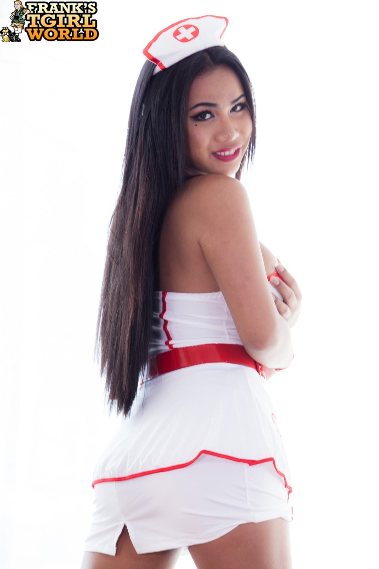 Asian Jasmine Is Voluptuous Nurse