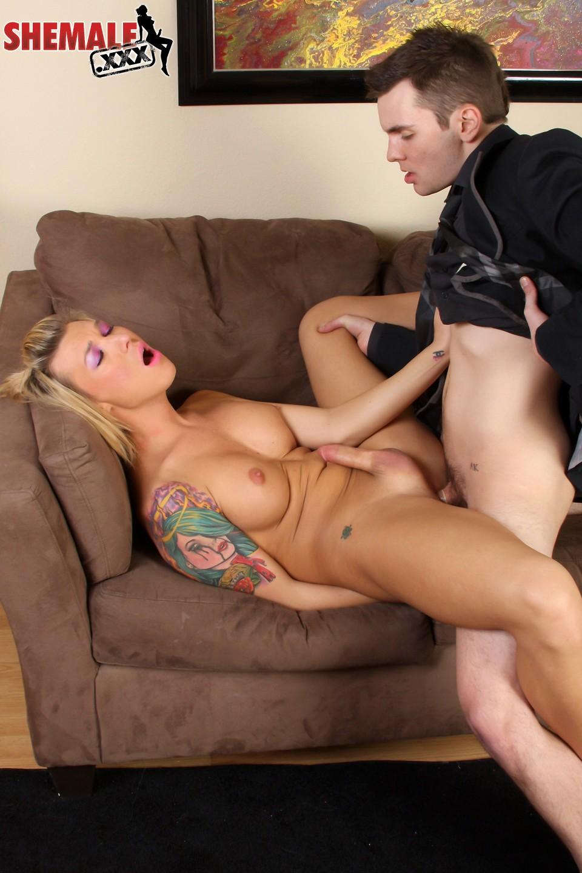 Aubrey Kate Banged On Sofa