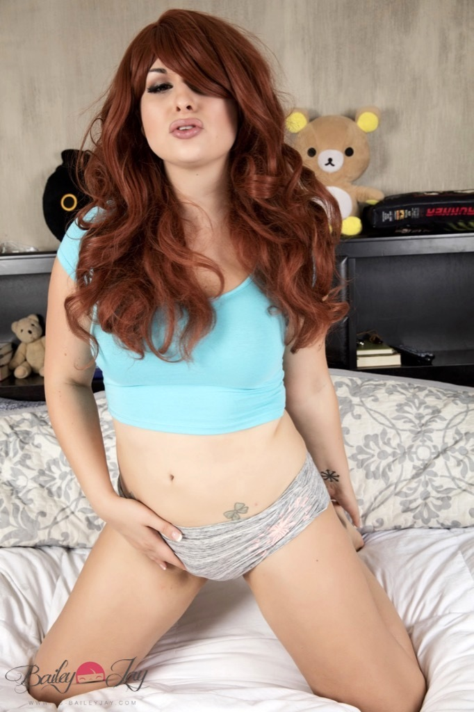 Bailey Desires Stuffed Toys As Much As A Good Stuffing Of A Enormous Penis Up Her Bum