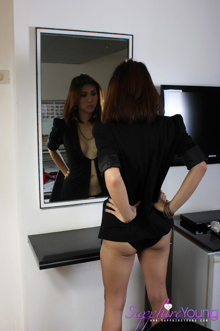 behind the scenes with the gorgeous thai femboy