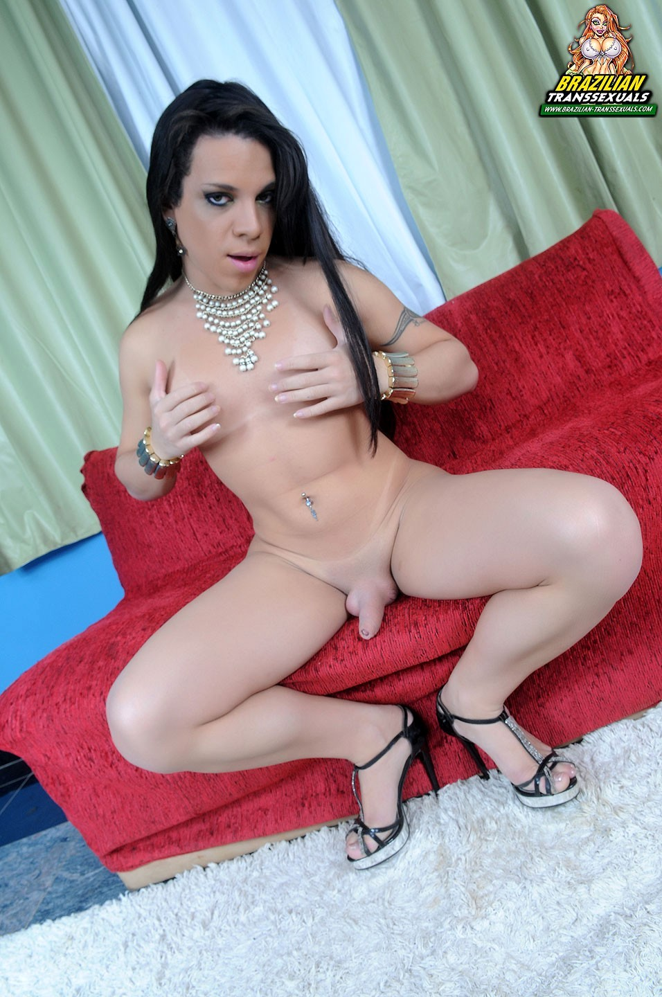 brazilian tgirl with massive tool