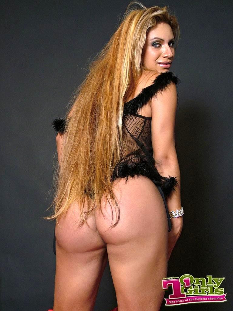 Breathtaking Tayssa Tally In Black Panties