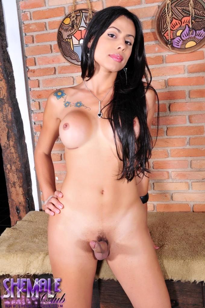 Busty Bruna Rodrigues Exposing Her Tool