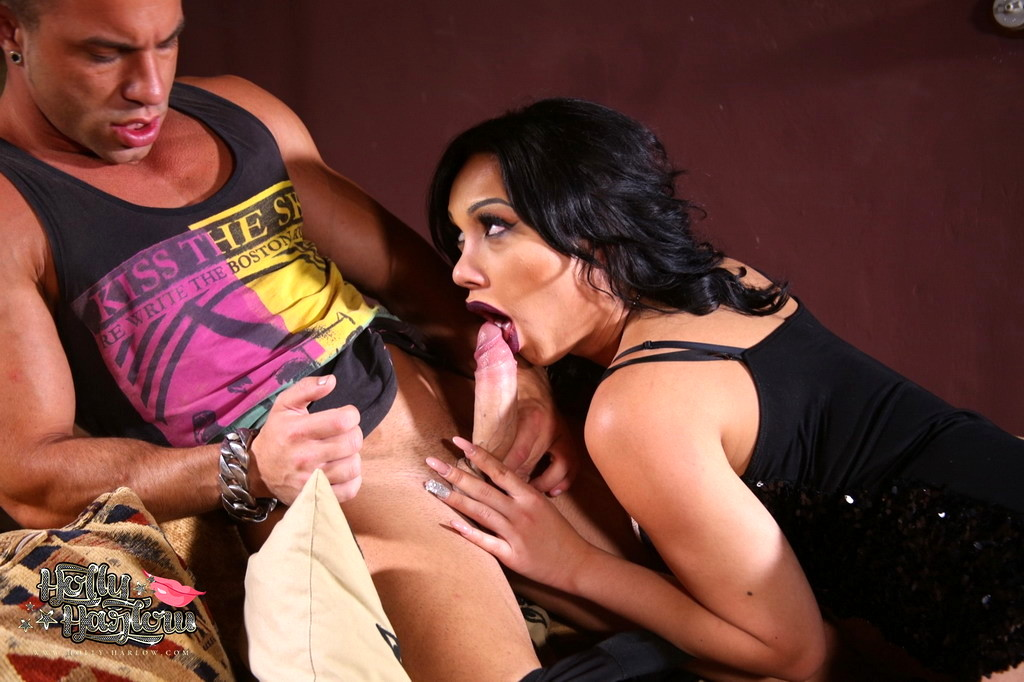 busty holly blows a enormous dick