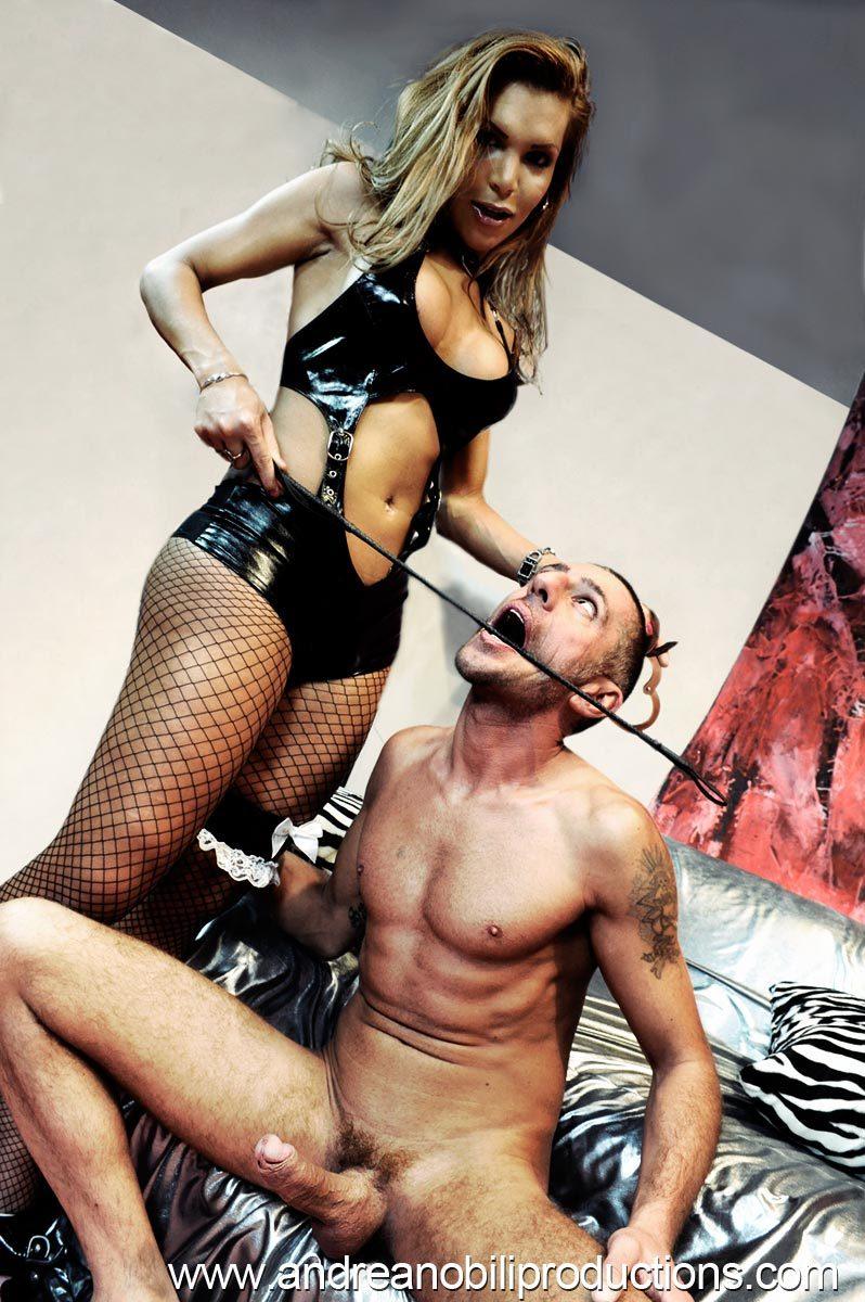 Claudia Polansky Nailing Her Slave