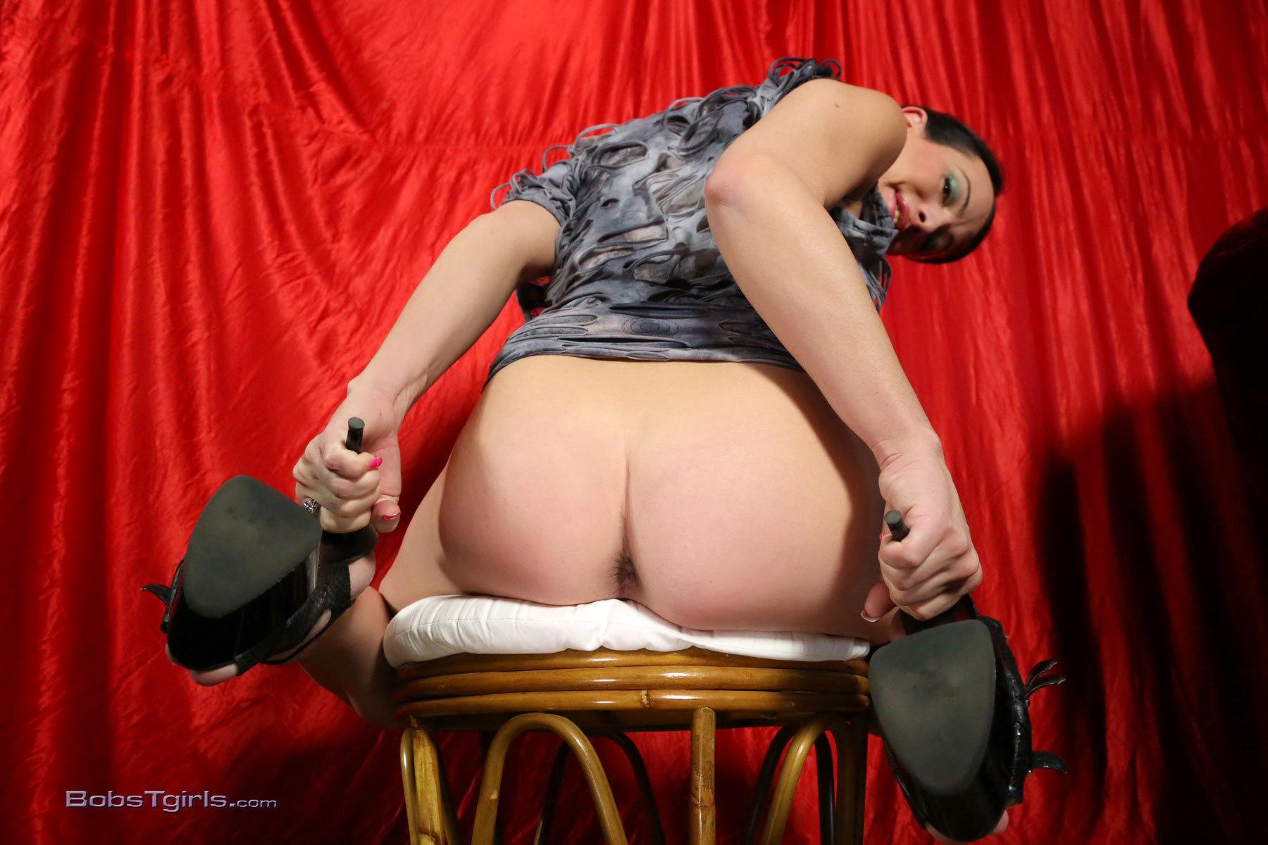 Danika Milking Her Enormous Cock