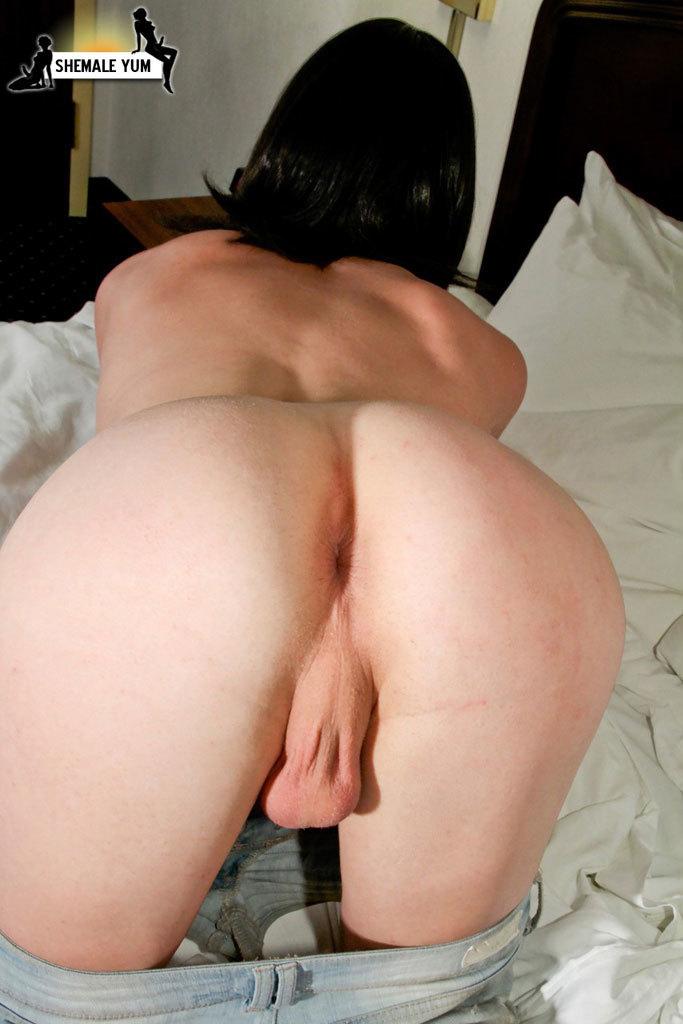 Dita Playful With Her Penis