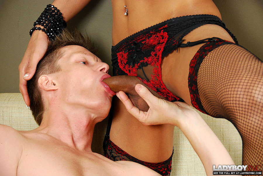 enormous tit thai ladyboy joy gets creampied