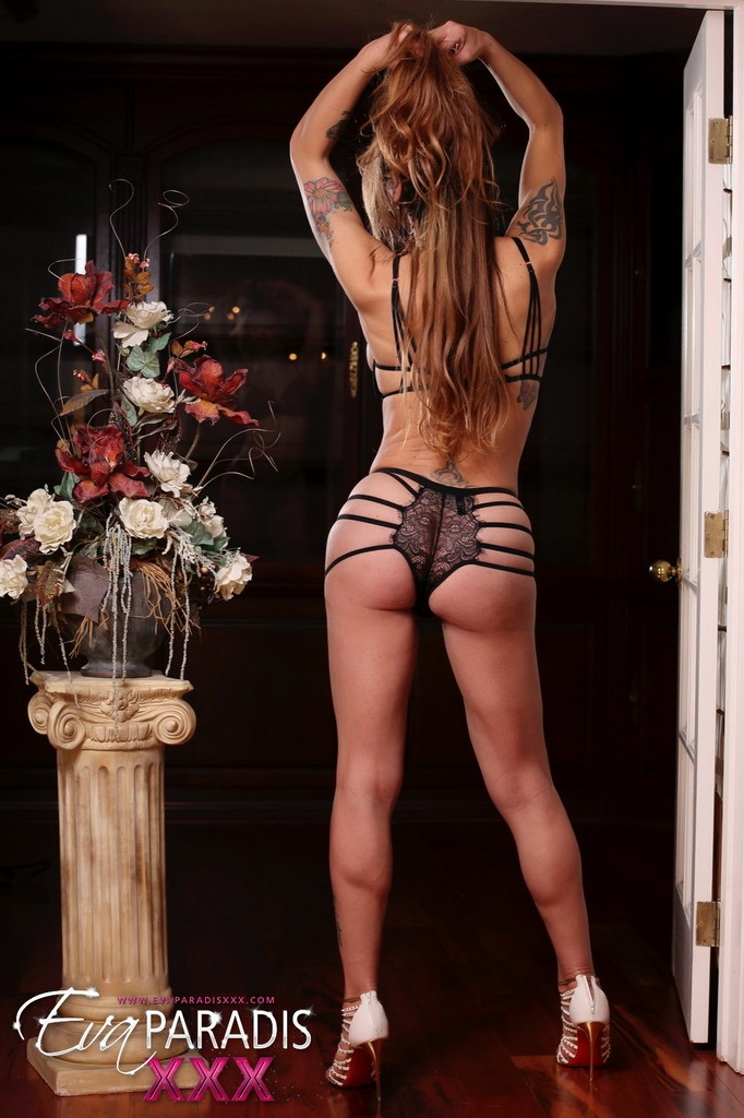 Eva Paradis Seducing In Yummy Panties