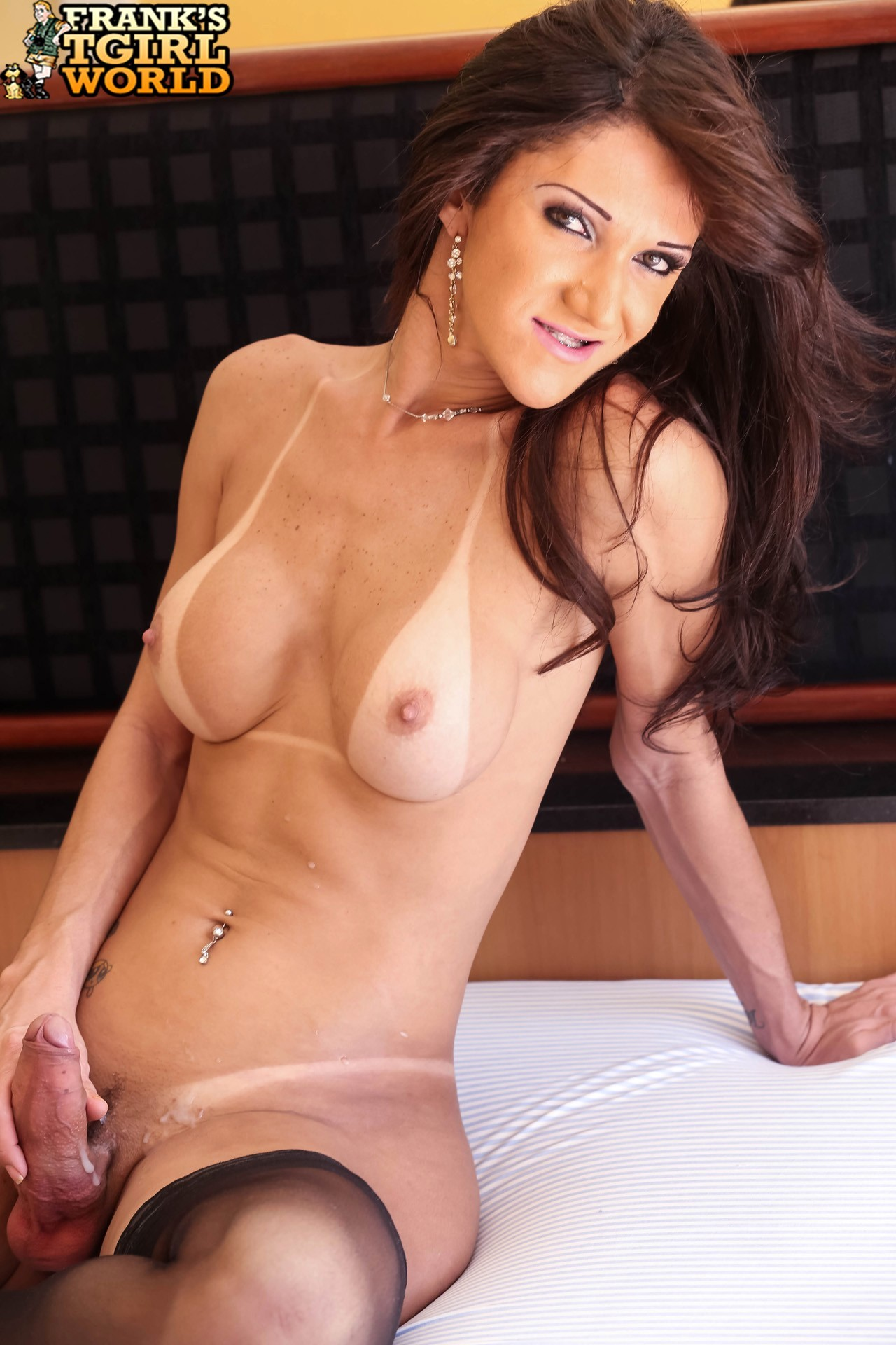 Fernanda Lohany Proud Of Her Massive Dick
