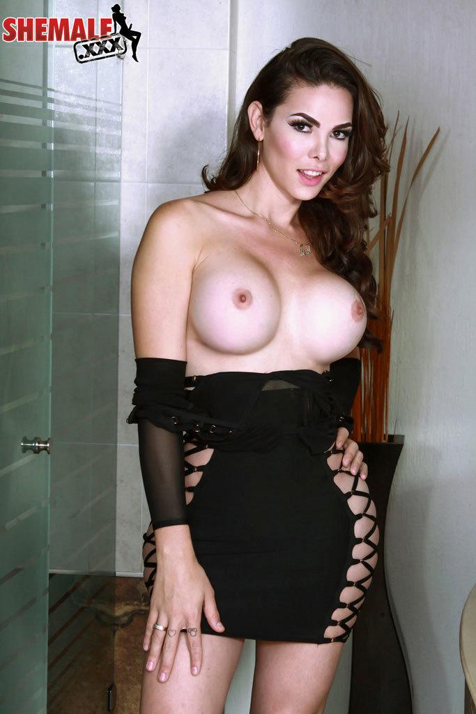 Gia Itzel Hot Mexican Femboy In Yummy Black Skirt