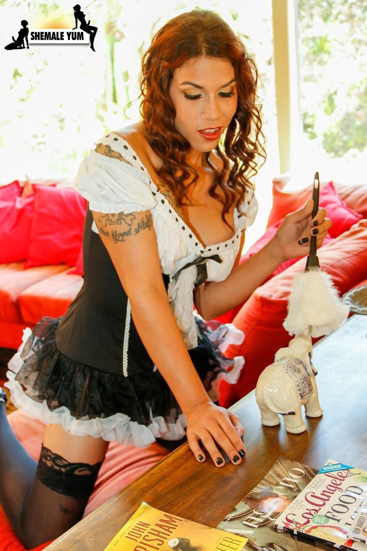 Hungry Boss Girl Banging Arousing Maid