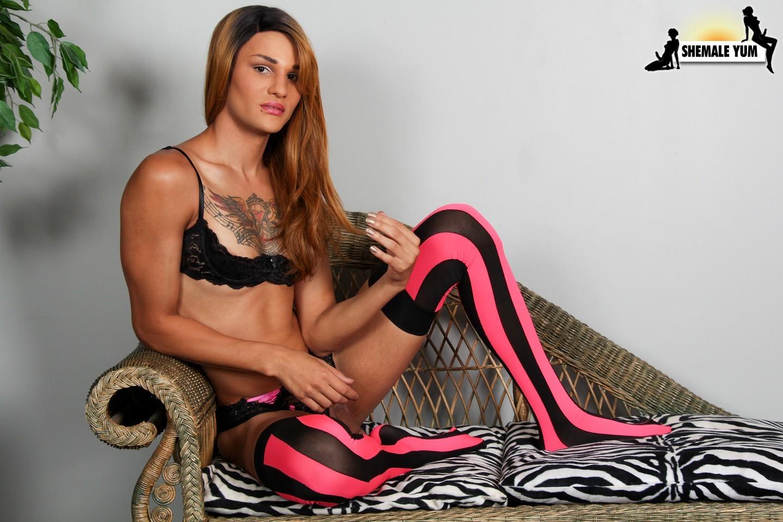 Jenna Sky In Kissable Stockings