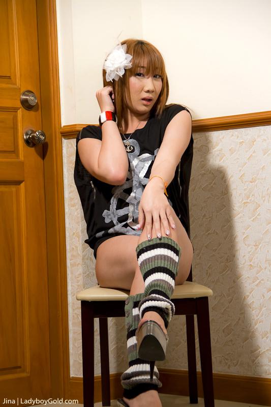 Jina Tranny As Punk Babe