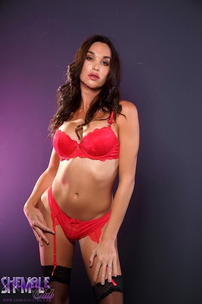 Jonelle In Provoking Red Panties Is Irresistable