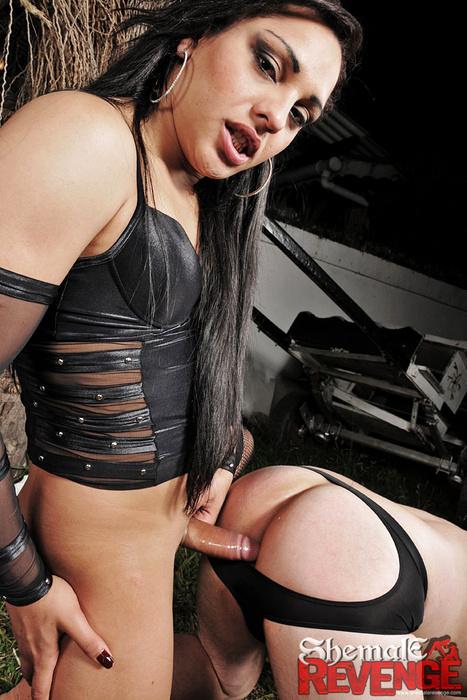 Karen Mello Nailing Her Slave Boy