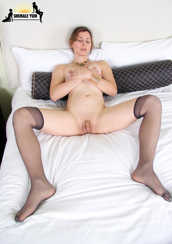 Korra Del Rio Stroking Her Penis