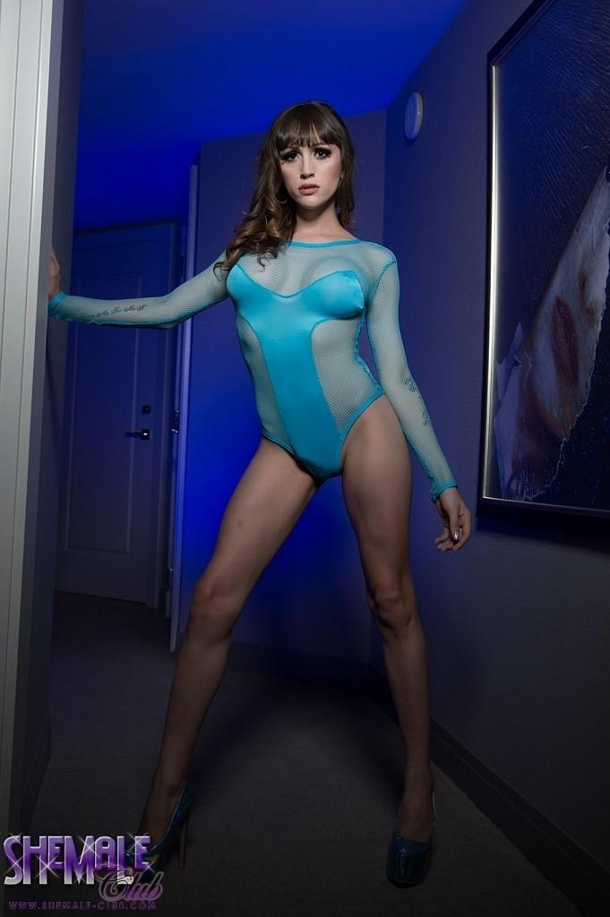 Kylie Maria In Flirtatious Blue Panties