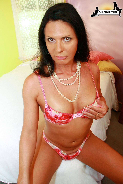 Lina Cavalli Posing In Titillating Panties