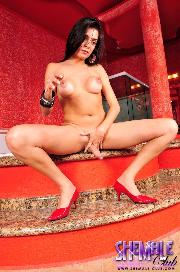 Lucimara Santos Stroke's Her Raw Shecock