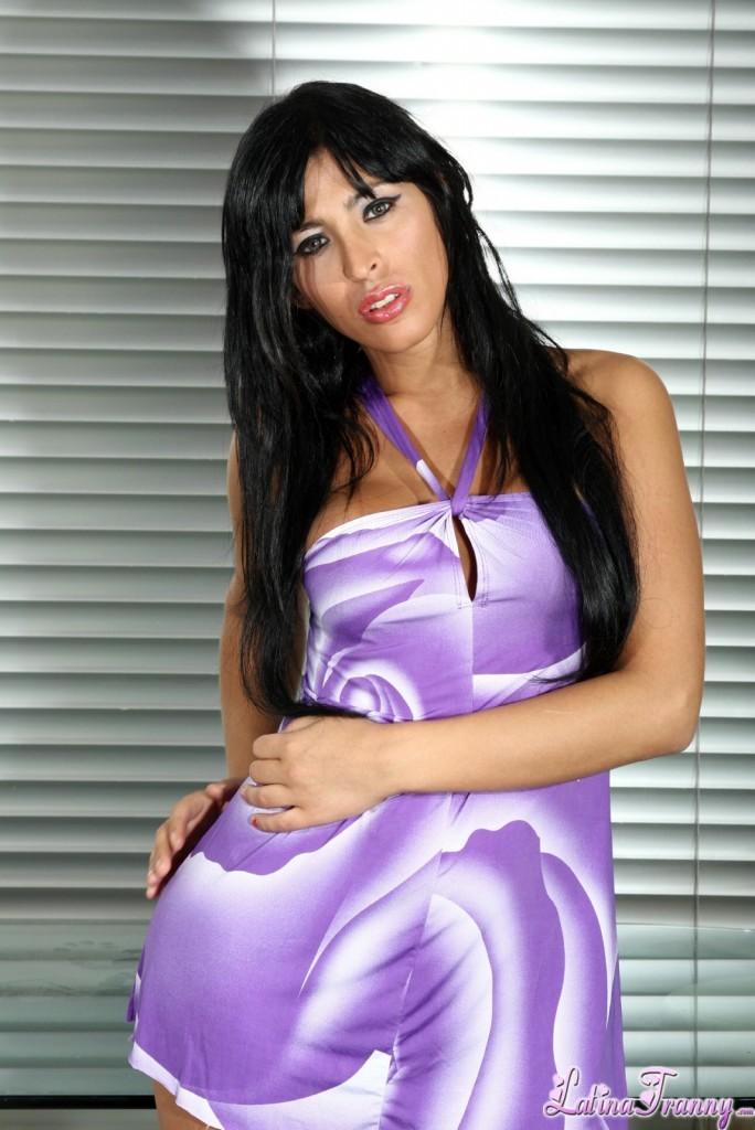 Ludmila Strips Blue Skirt