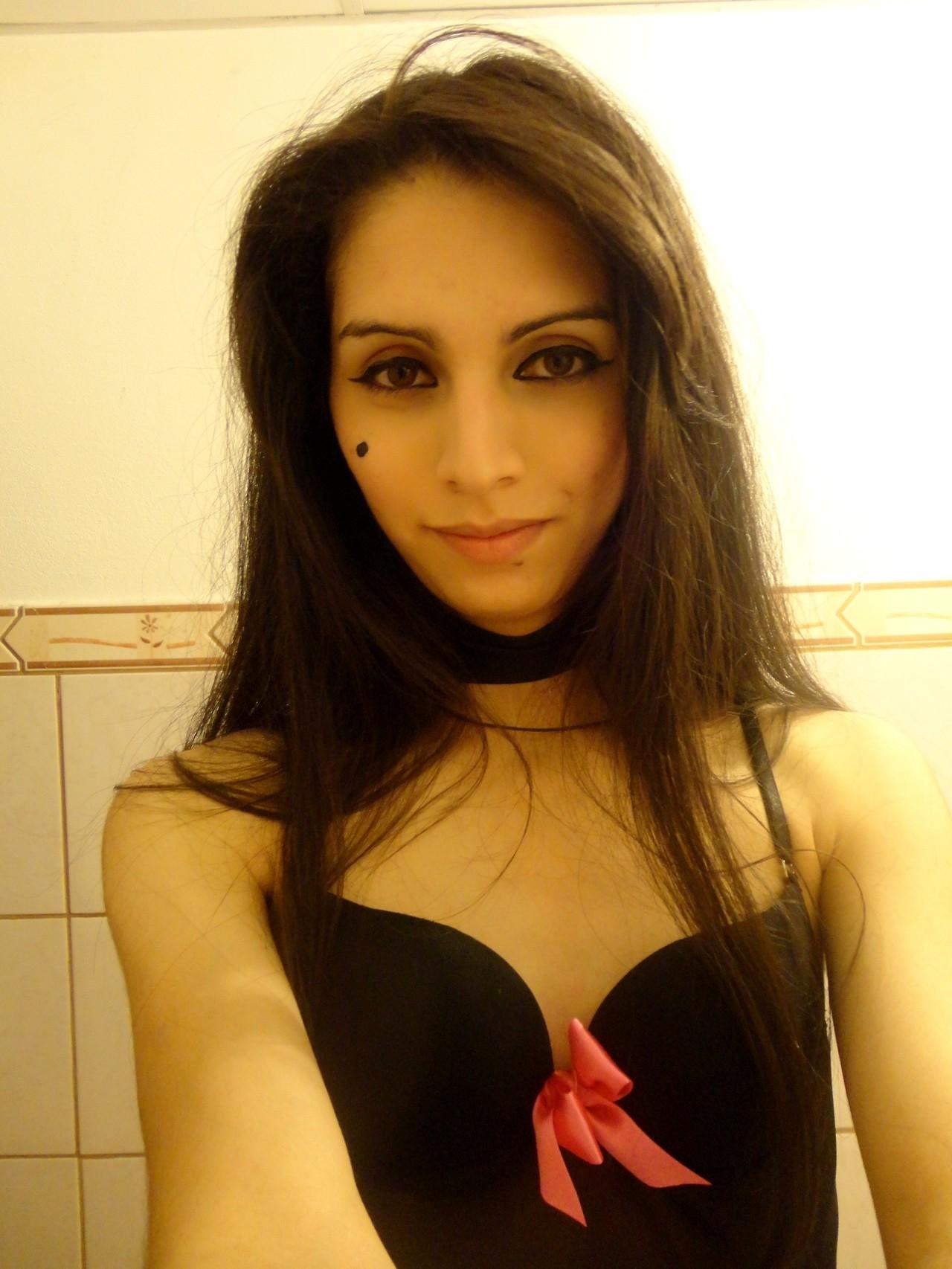 luna trap in steamy black panties