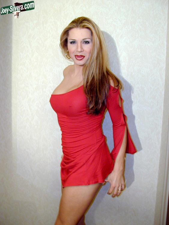 Marissa Has Beautiful Red Skirt