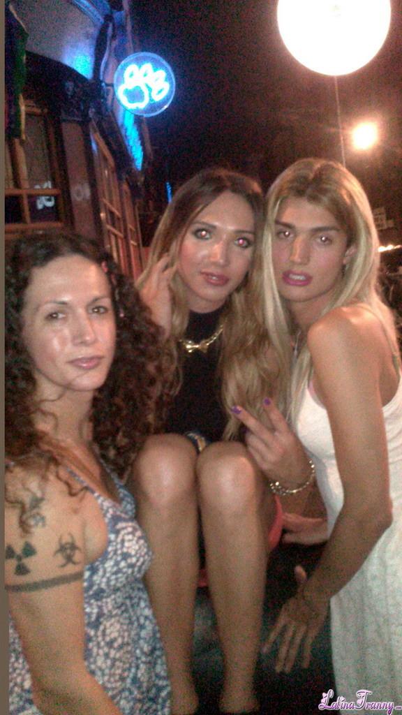 Nikki Posing With Super Beautiful Femboys