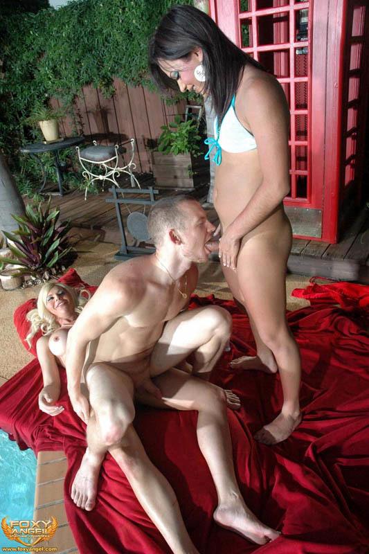 outdoor ladyboy pool orgy