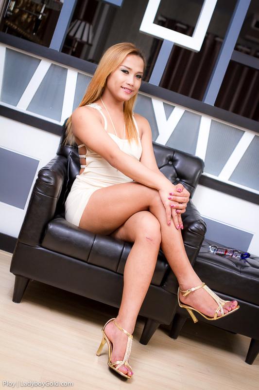 ploy tgirl short skirt jizz