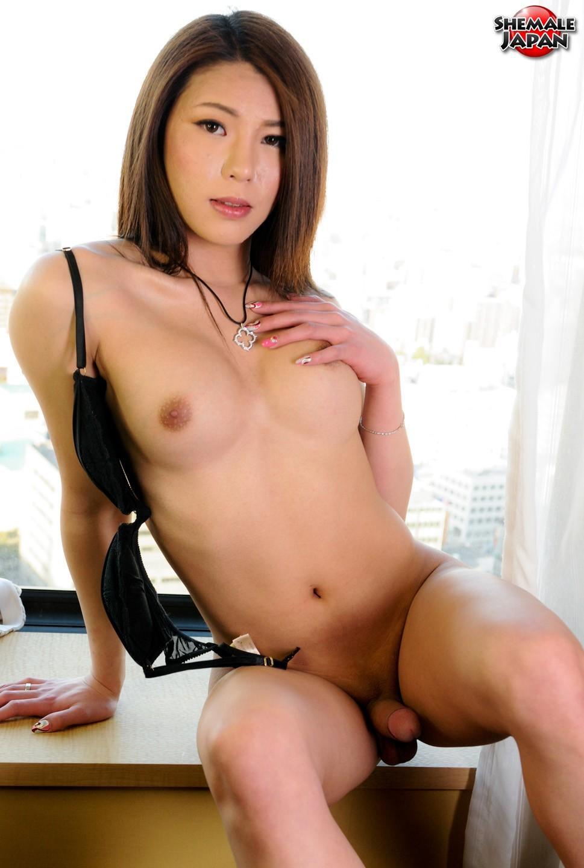 Provocative Newhalf Yuria Misaki Posing