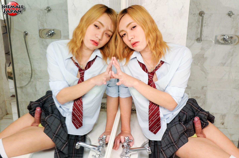 Rise Kaneshiro Is Starved School Girl
