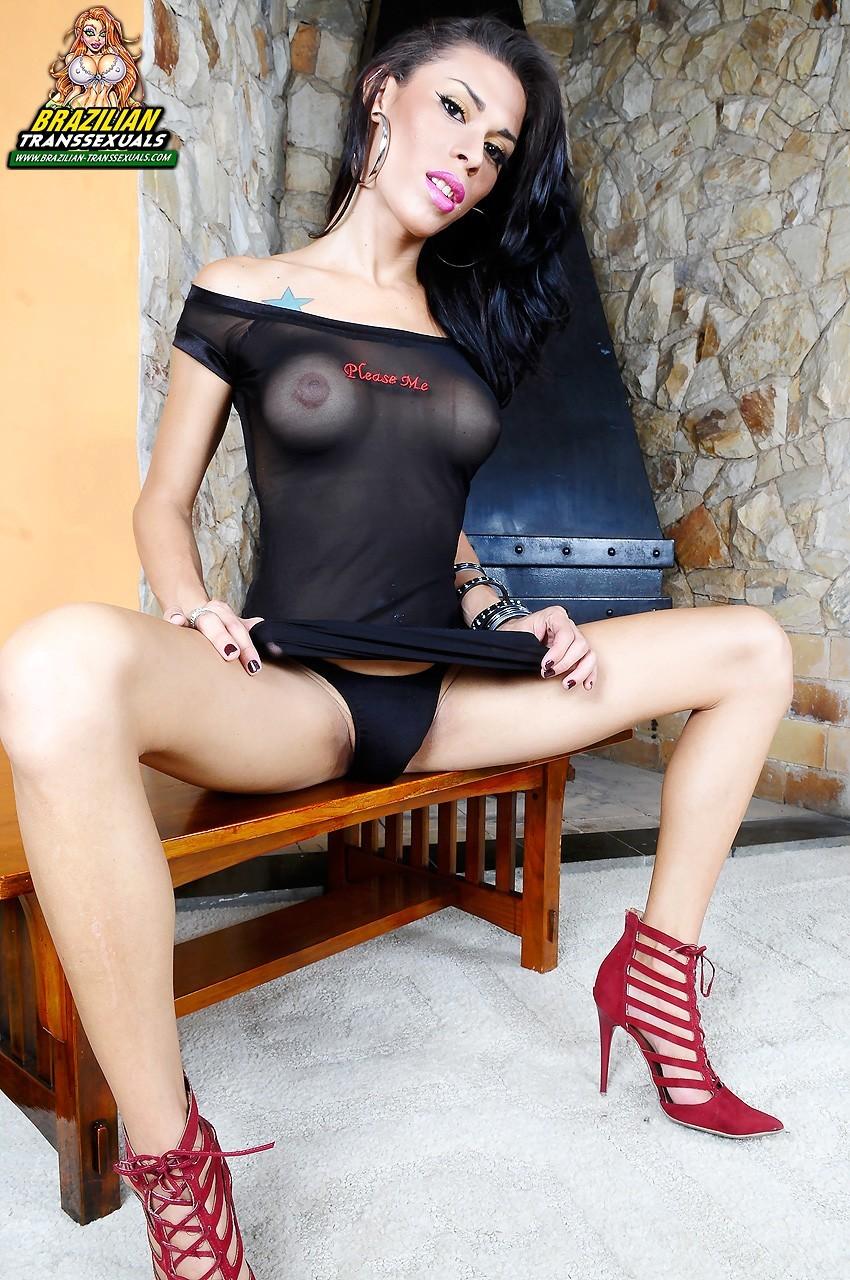 Sabrina De Castro Proud Of Her Enormous Penis