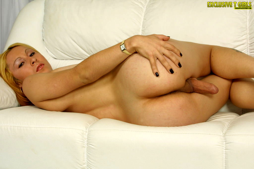 Sabrina Sherman Foxy T-Girl Boasting Her Cock