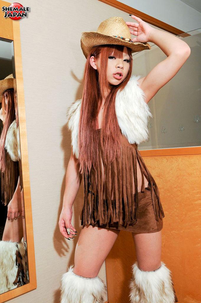 Sayaka Ayasaki Inviting Cowgirl