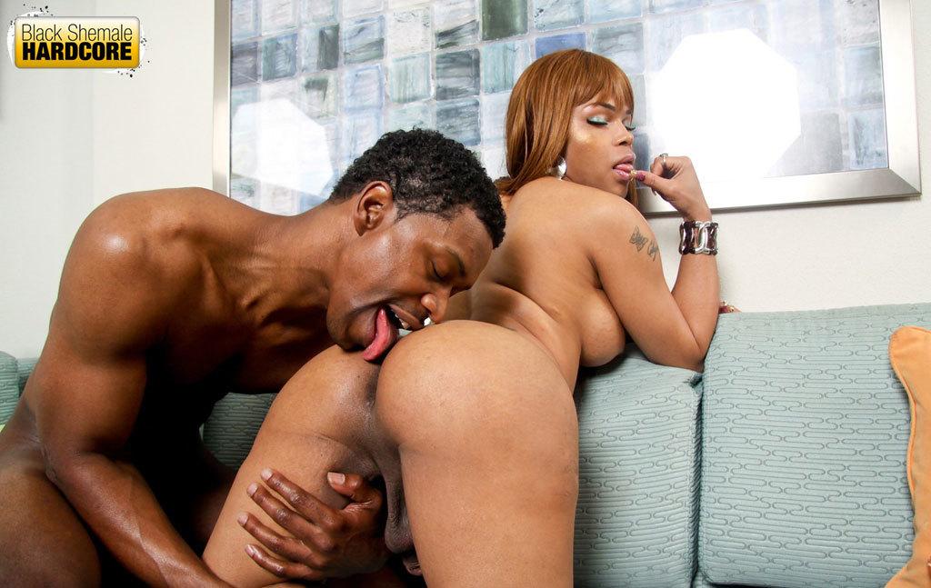 Sheeba Starr Got Her Butt Banged By Massive Black Penis