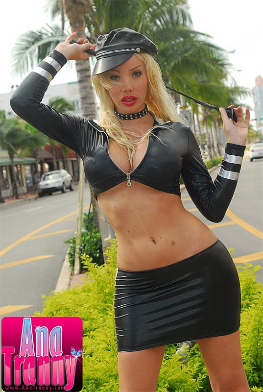 spicy ladyboy police woman