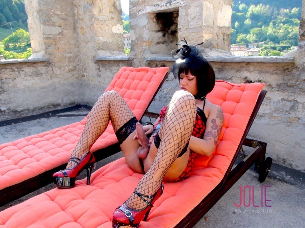 spicy tgirl babes teasing