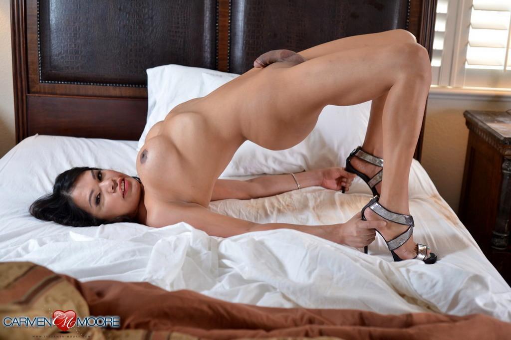 Splendid Carmen Stripping And Posing