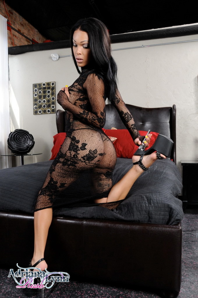 Super Provocative Adriana Strips And Rub's