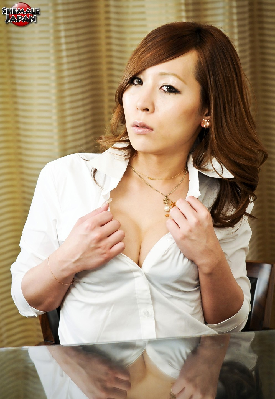 Sweet Secretary Sayaka Kohaku Toying Her Penis With Toy