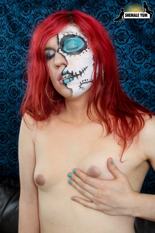 Sweet Zombie Transexual Dani Grace
